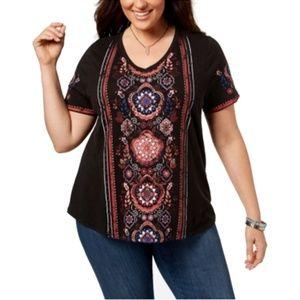 Style & Co. Women's Plus Size Graphic T-Shirt